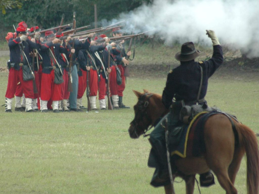 Battle of Townsends Plantation Reenactment Event