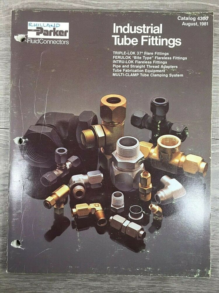 parker hydraulic fittings catalog