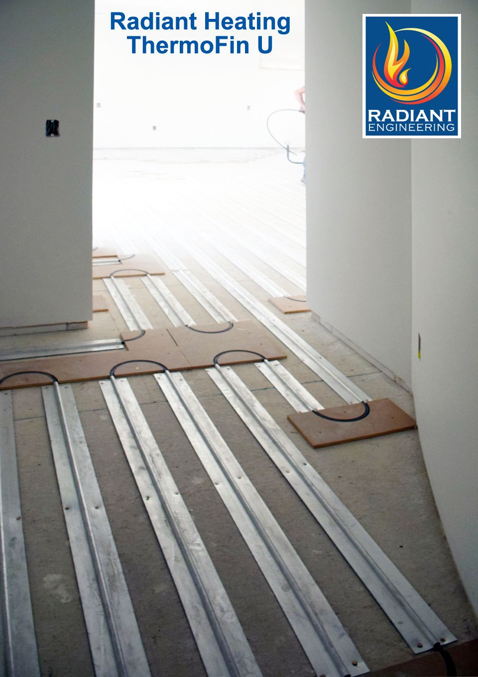 Radiant Heating With Thermofin U Extruded Aluminum Heat Transfer Plates Patented And Manufactured By Radiant Engineering Inc Bozeman Montana Our Customers