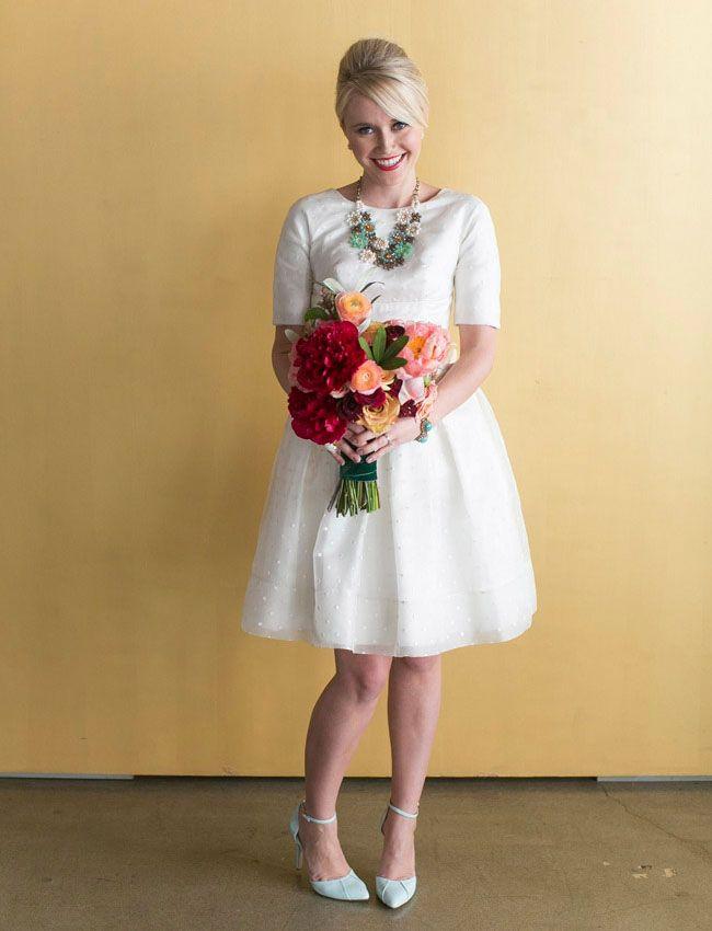 Retro-Mod Moto Wedding Inspiration | Wedding gown rental, Event ...