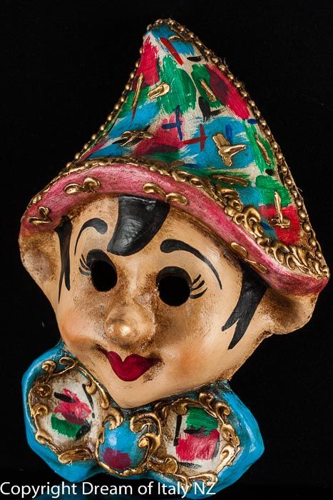 How To Decorate A Mask Amusing A Lovely Rendering Of The Classical #pinocchio #venetian Mask Inspiration