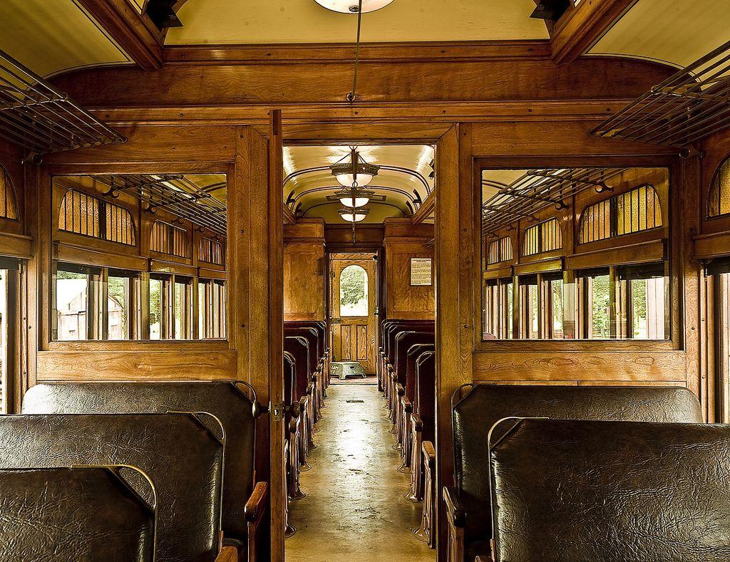 Vintage Train Interior