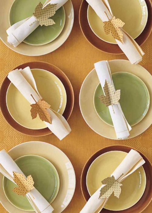 25+ DIY Thanksgiving Napkin Ring Ideas with Free ...