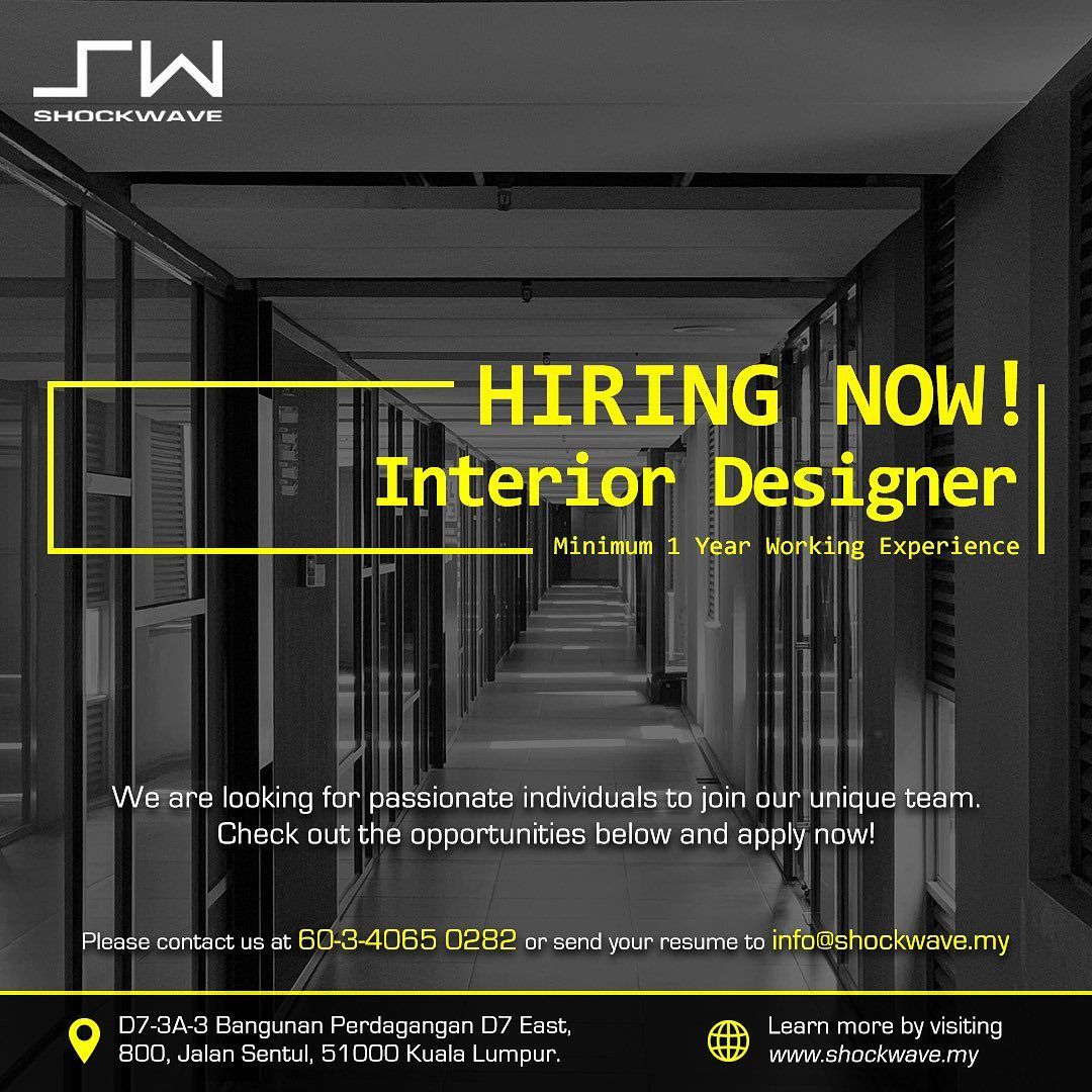 "Shockwave S/B on Instagram ""Shockwave it's hiring!! Join"