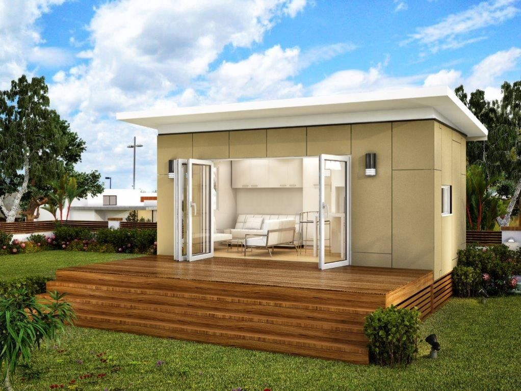 Looking like my studio torino granny flat spacious for Backyard cabins granny flats