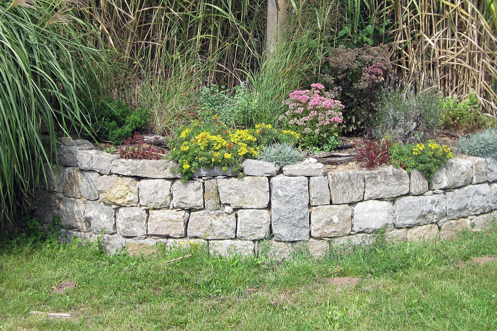 natursteinmauer - trockenmauer | pinterest