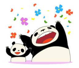 Free Panda Kopanda Line Sticker Http Www Line Stickers Com Panda Kopanda Line Sticker Panda Stickers