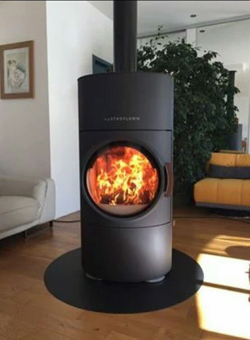 contemporary wood-burning stove (soapstone) - jazz - rika | for, Wohnzimmer dekoo
