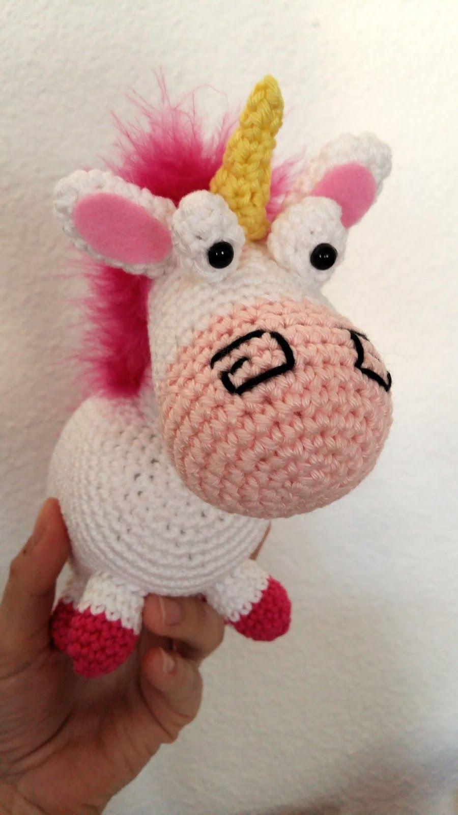 Fée Du Tricot La Licorne De La Petite Agnès Au Crochet