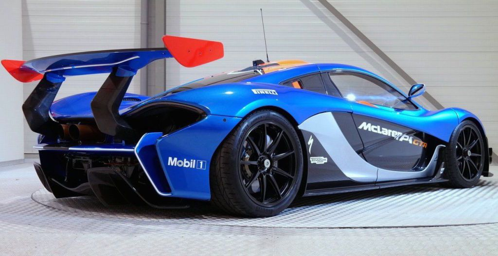 holy crap: there's a road-legal mclaren p1 gtr for sale | bruce