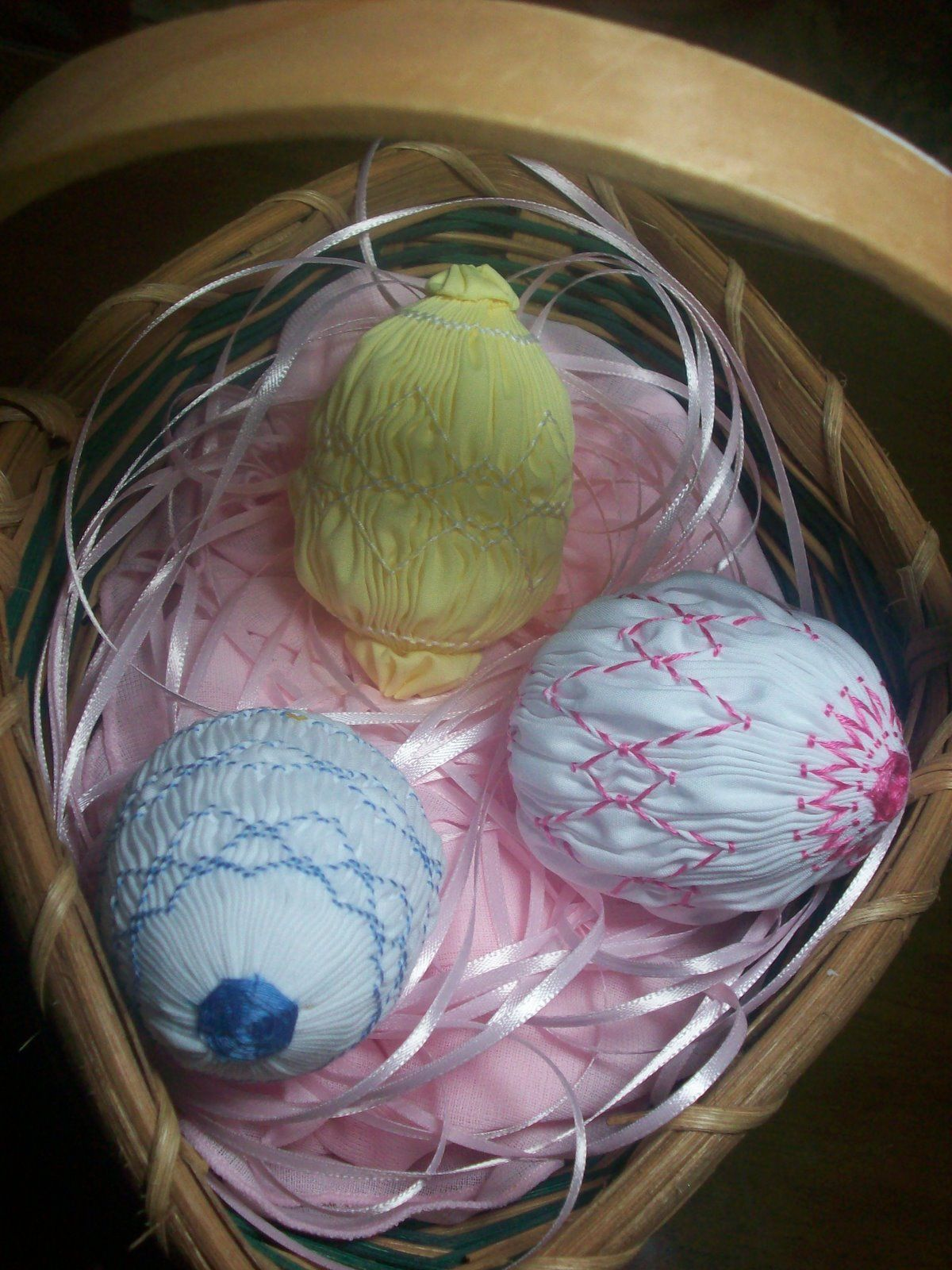 Little B Sewing: Smocked Easter Eggs!