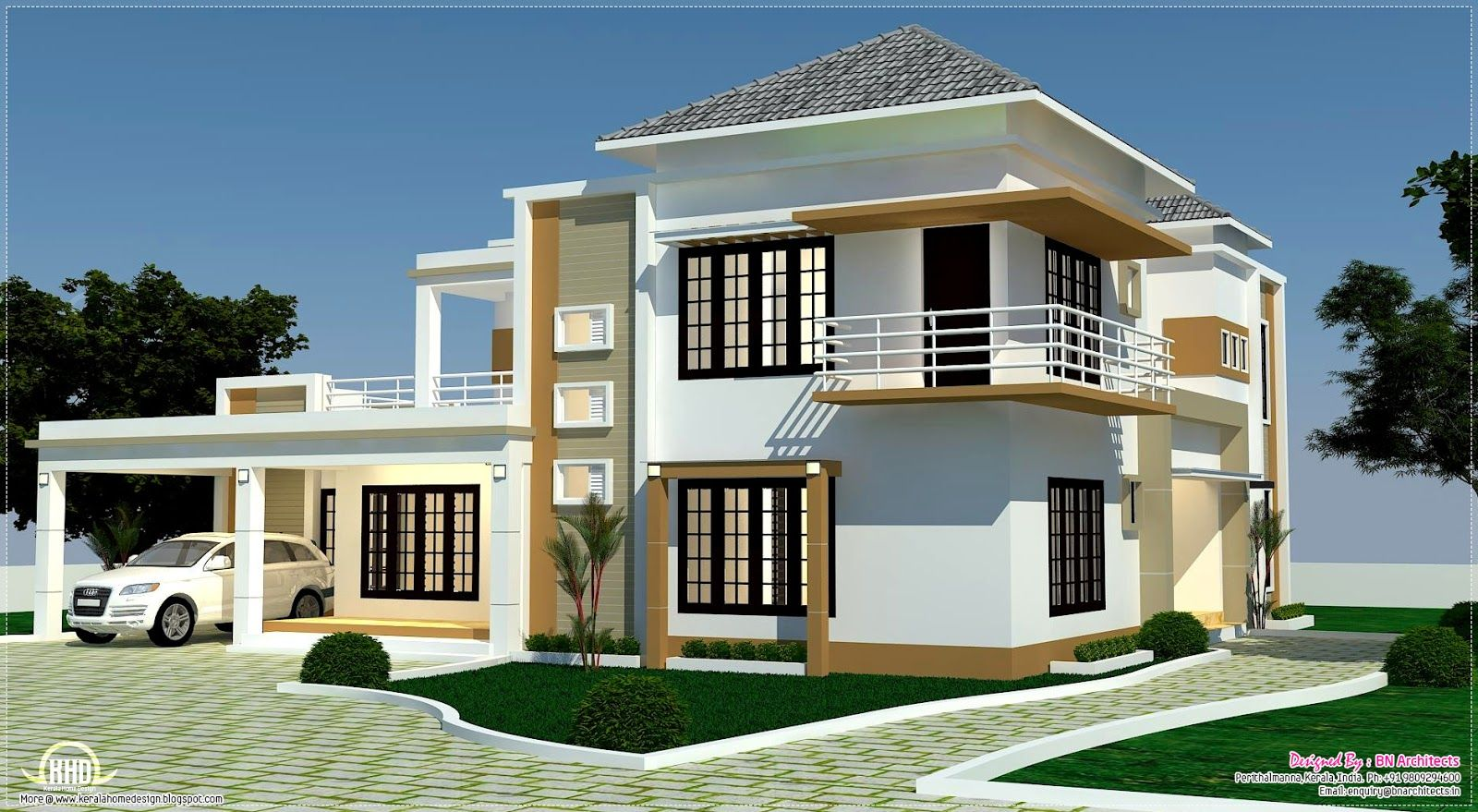Home plans one room school floor plan 3d views and for 4 bedroom 3d house plans