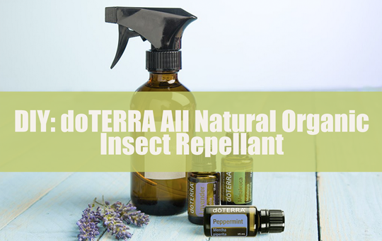 #DIY #Essential #Oils #doTERRA All #Natural #Organic #Insect #Repellant