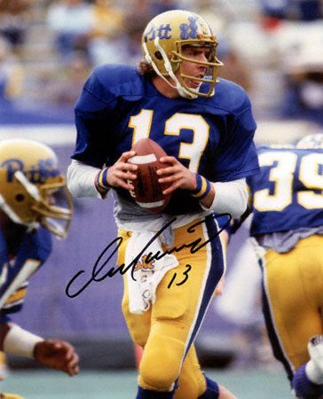 f8f6019ecbc Dan Marino in the old Pitt Panthers uniform. | Old Sports Uniforms ...