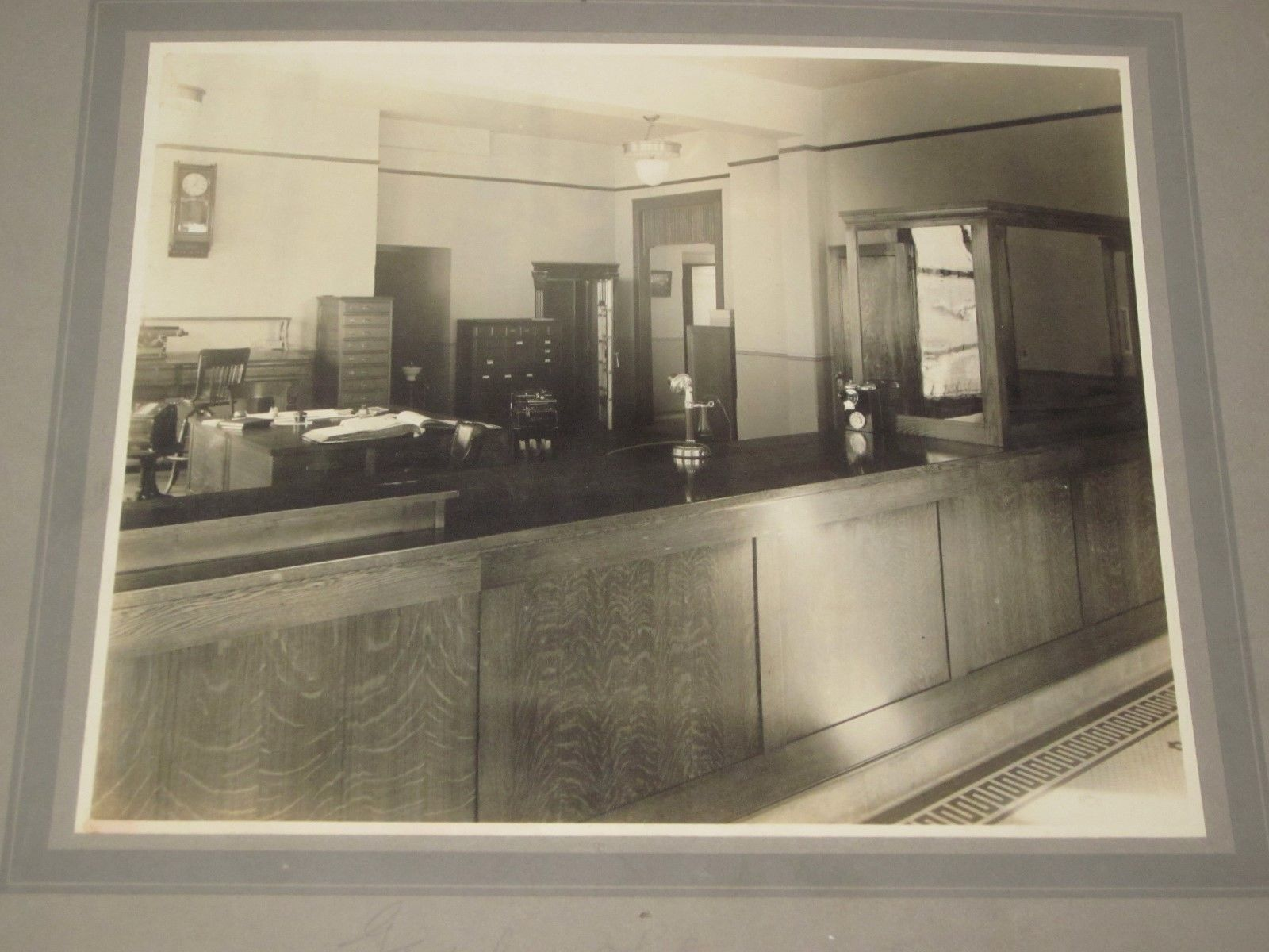 8 Professional Photos of United Home Telephone in MuskegonMi. 1915 - Strowger
