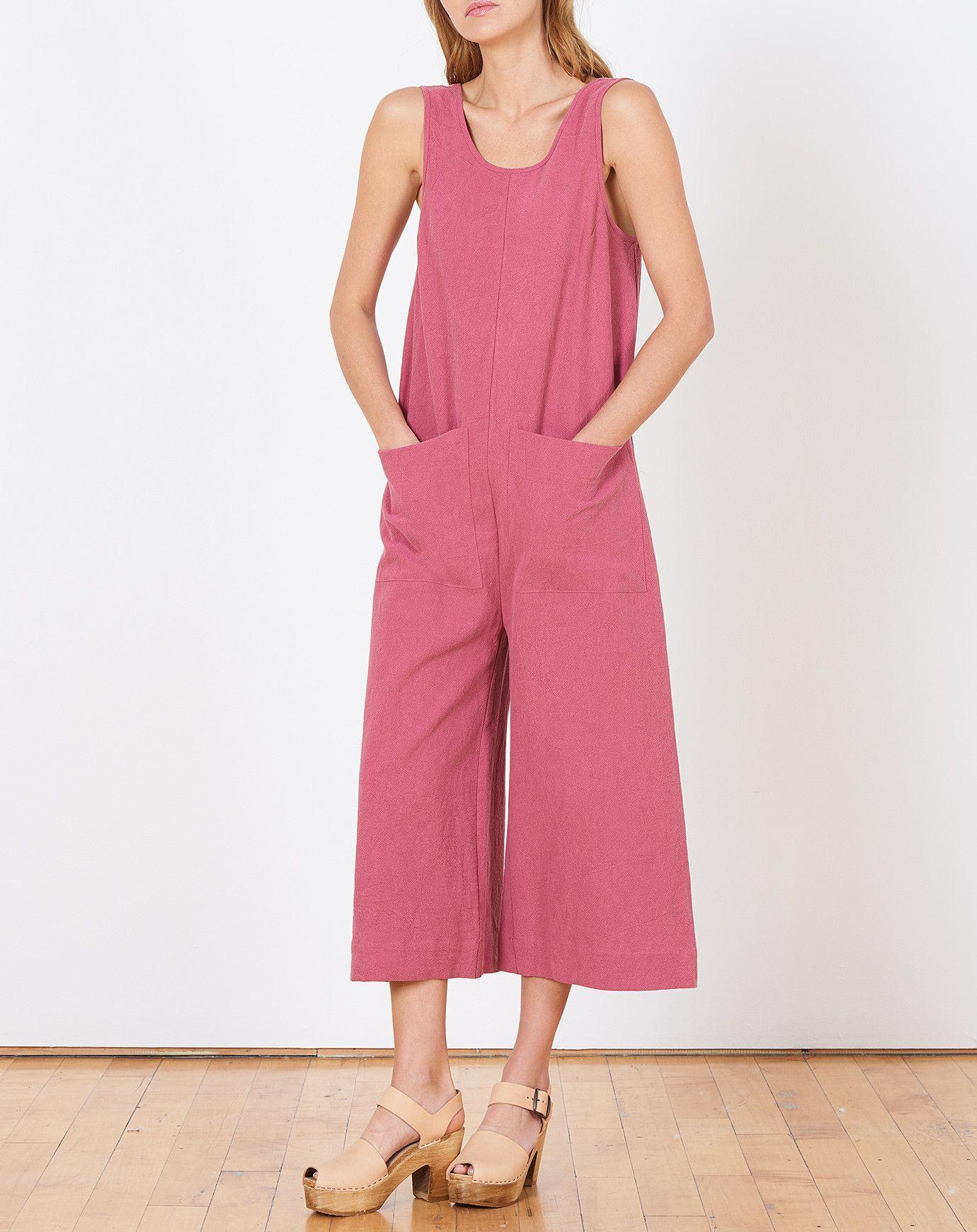 Ilana Kohn Milo Jumpsuit In Rose Her Pinterest Style Jumpsuit