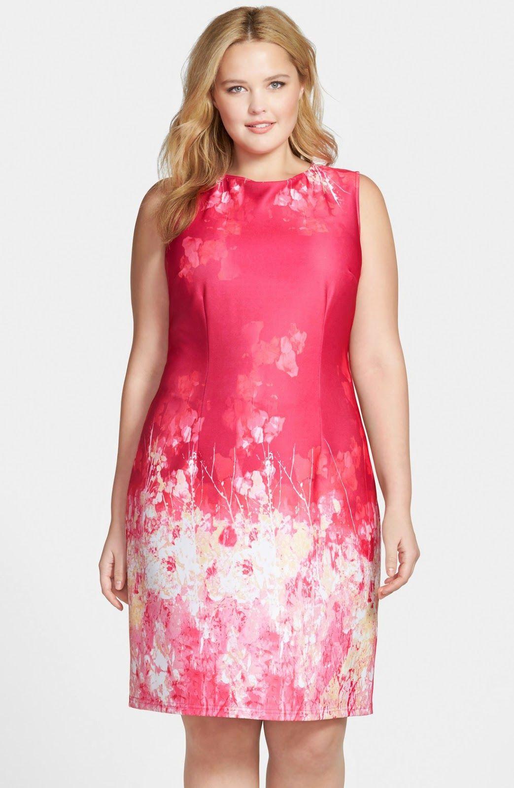Vestidos para mujeres gorditas | RONDES | Pinterest | Vestidos para ...