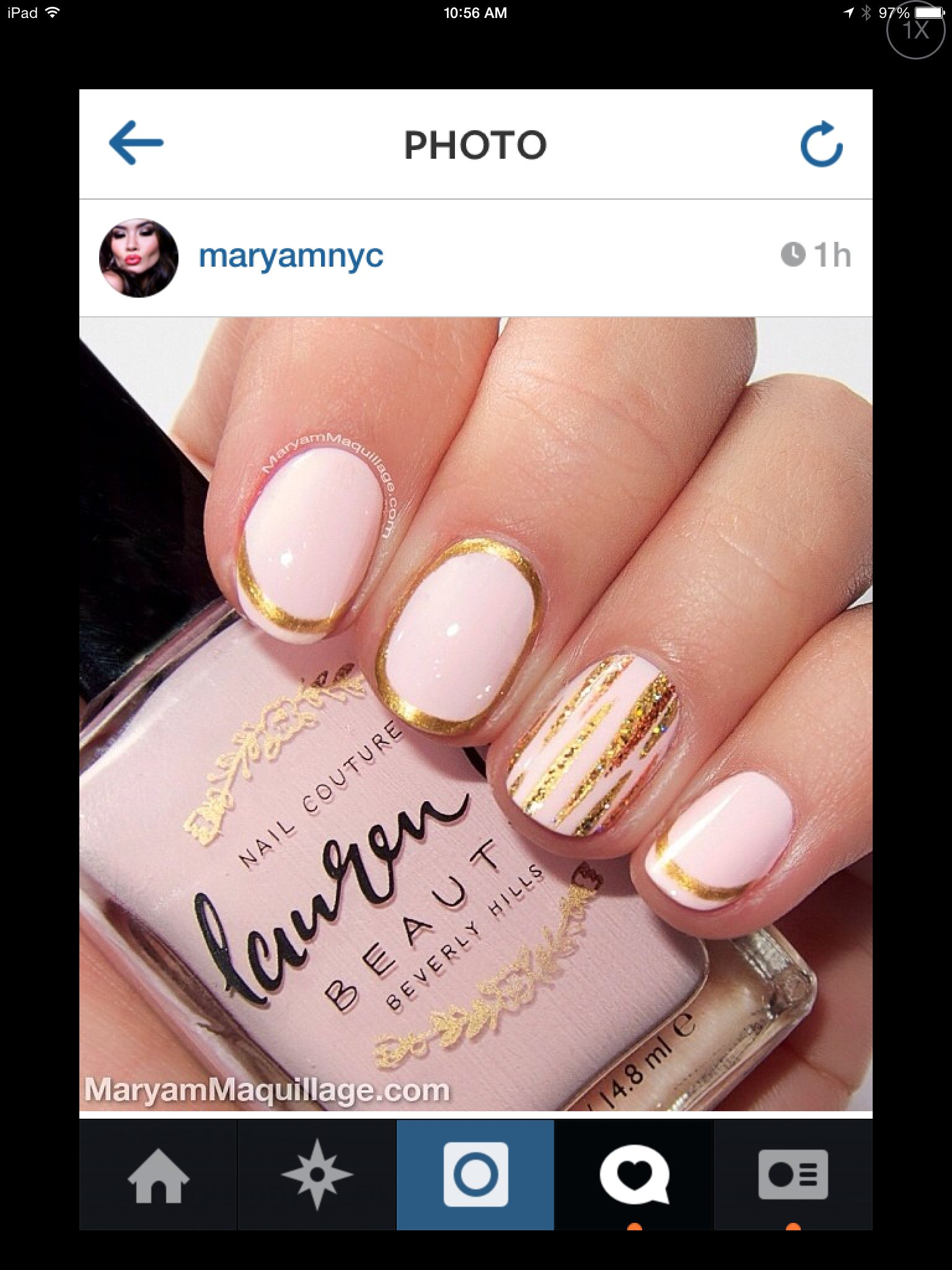 Check out this amazing nail art from maryammaquillage using our