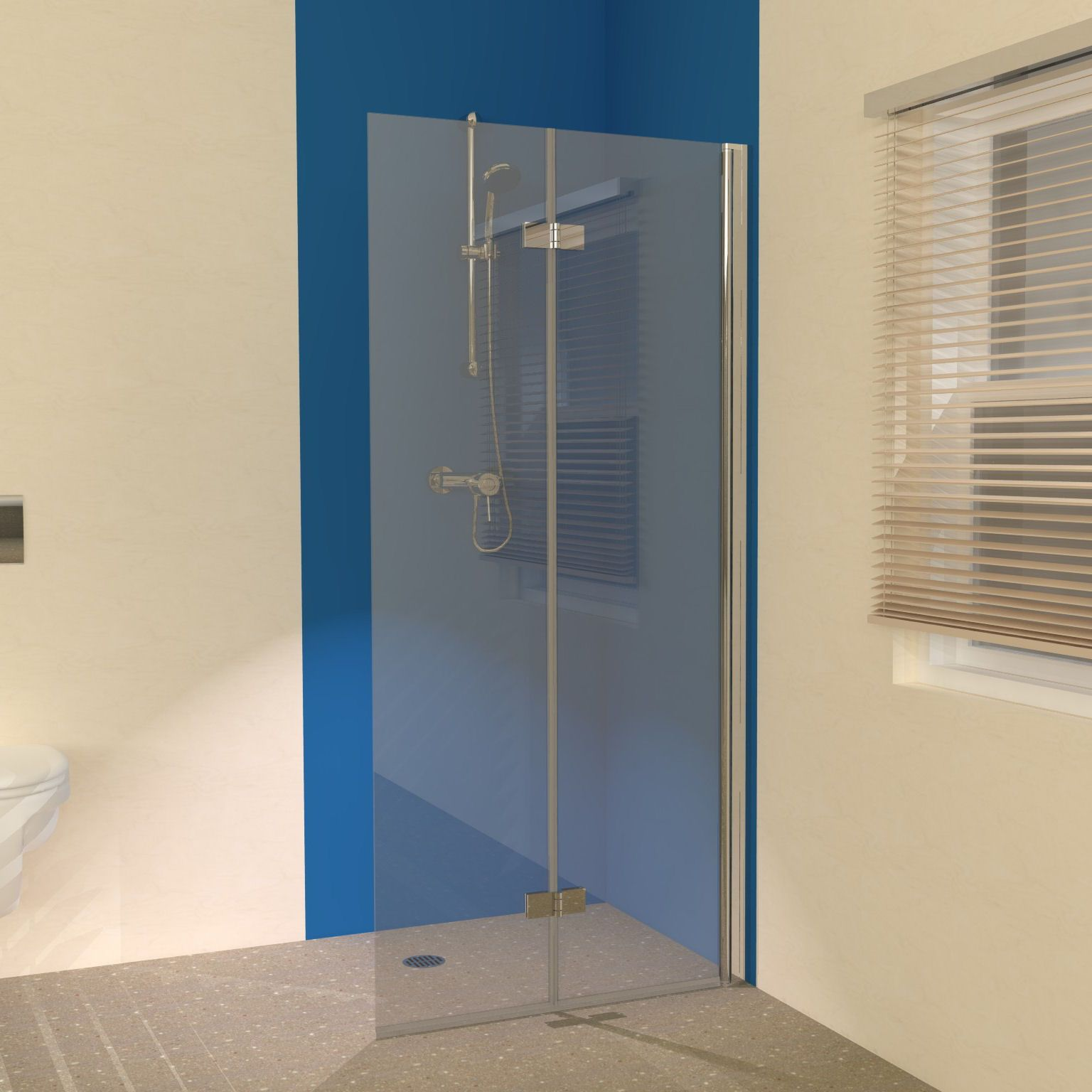 Coming soon the uniclosure 900 folding wet room screen is for Wet room shower screen 400mm