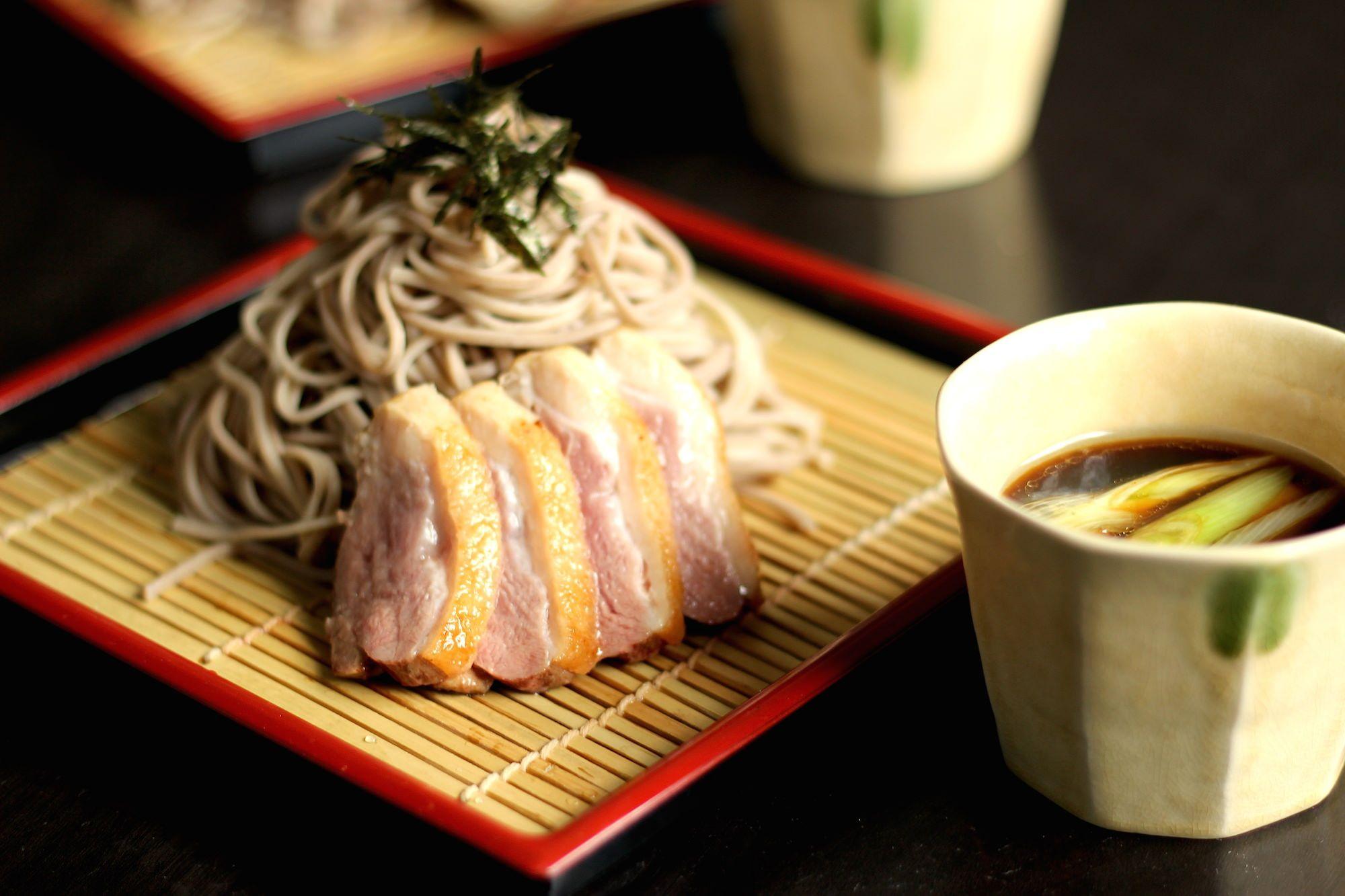 My Buckwheat Noodles w/ Duck Breast... mmmm #noodles #duck #cooking