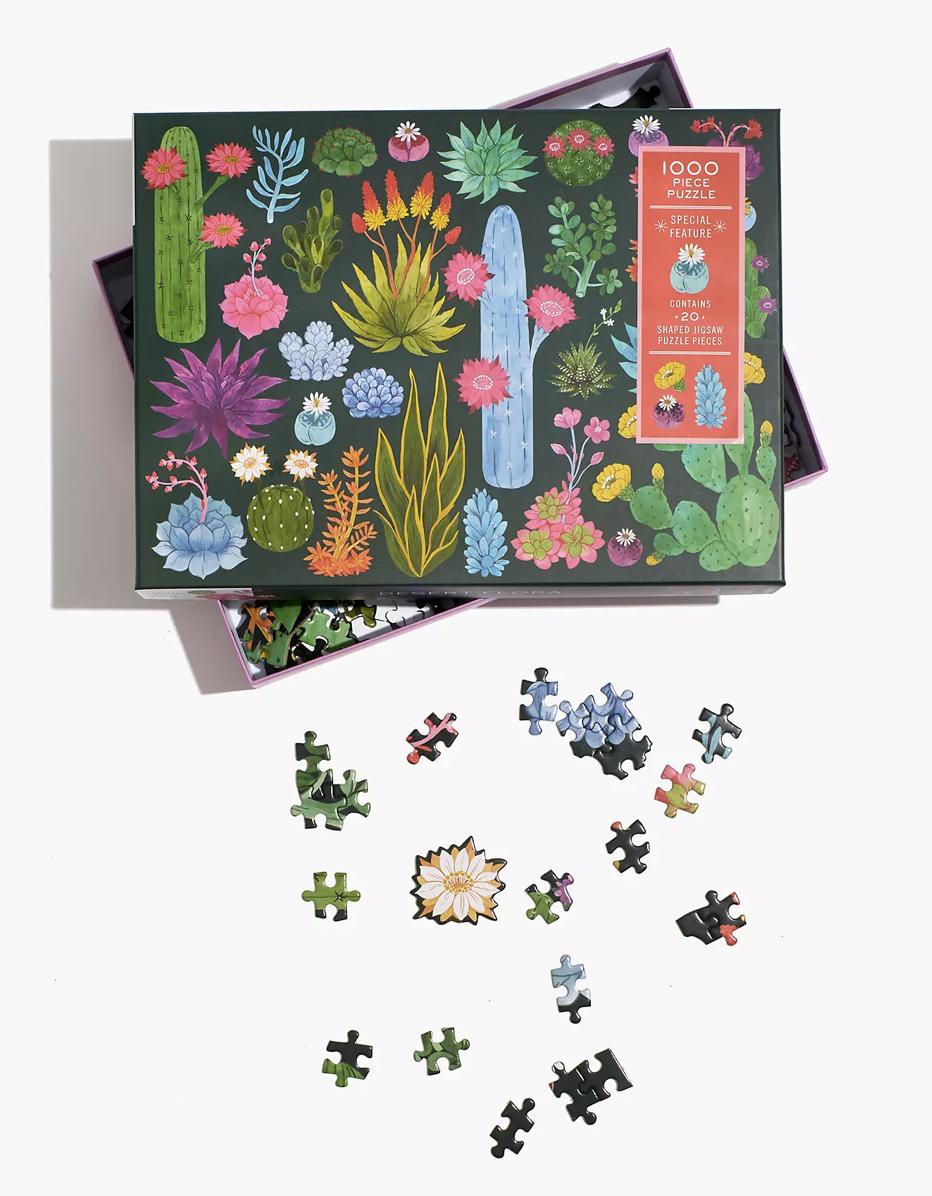 Desert Flora Jigsaw Puzzle In 2021
