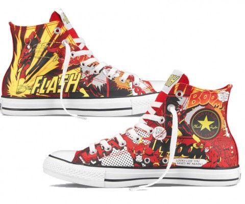 Dc comic converse   Converse, Cute sneakers
