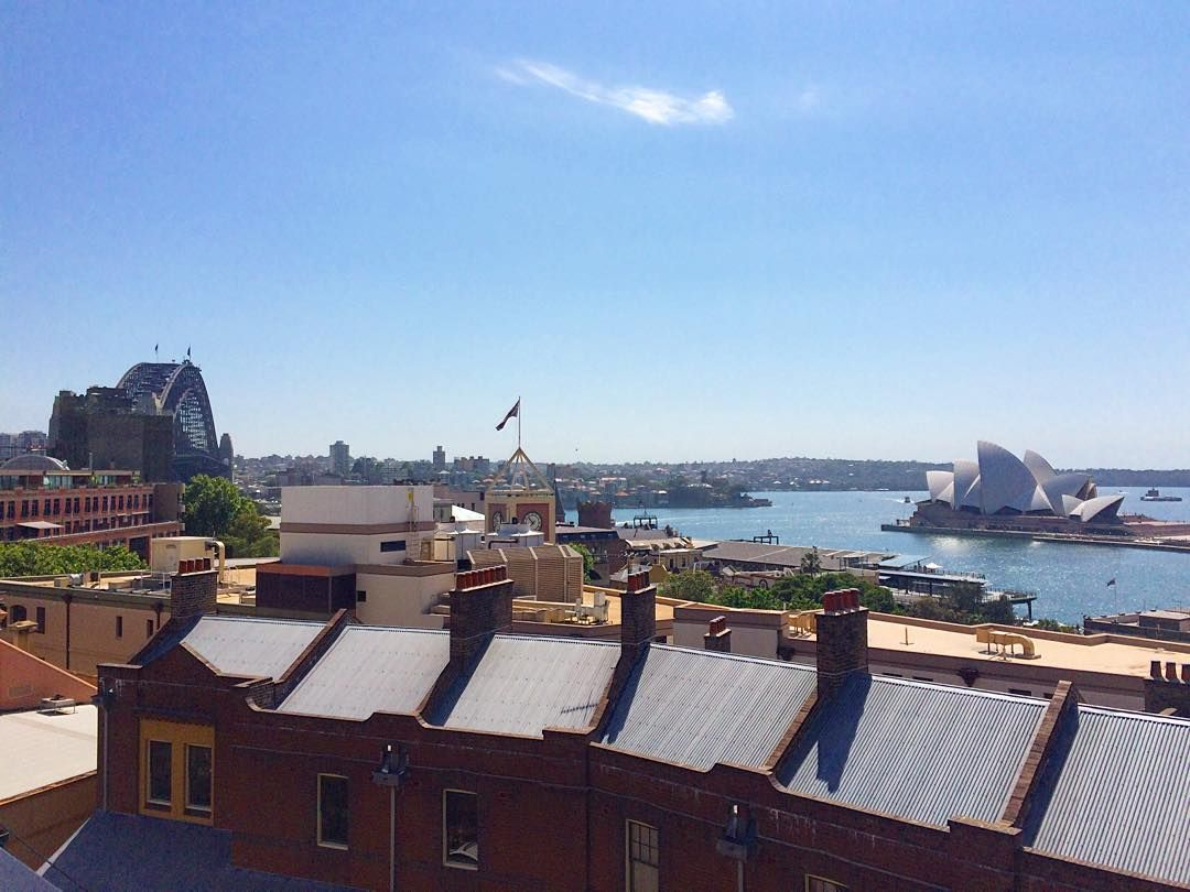 Sydney Harbour YHA rooftop- Never a bad angle  #yhaoz by yhaaustralia http://ift.tt/1NRMbNv