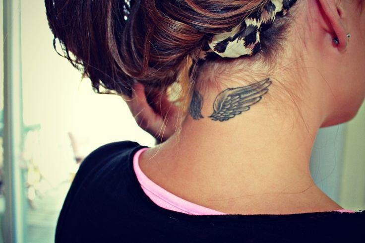 Tatuajes En La Nuca De Frases Para Mujeres Buscar Con Google