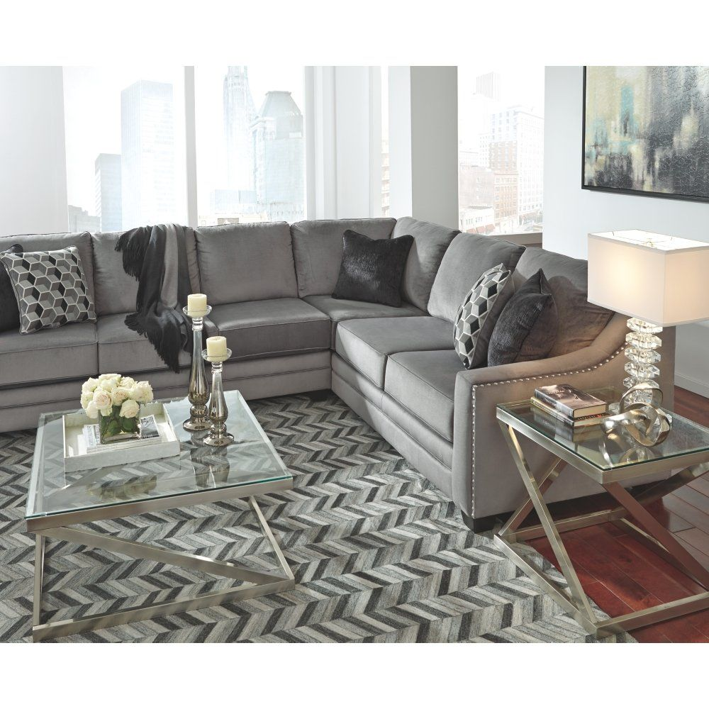 Contemporary Glass Coffee Table Silver Contemporary Glass Coffee Tables Sectional Sofa Couch Ashley Furniture [ 1000 x 1000 Pixel ]