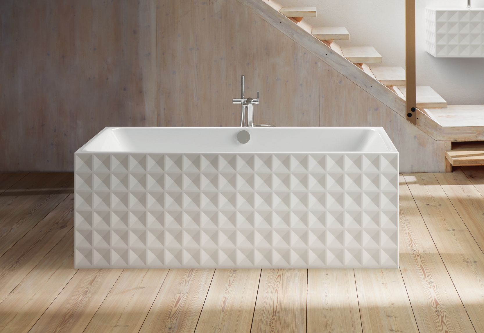 Vasca Da Bagno Bette : Betteloft ornament free standing bath by bette stylepark