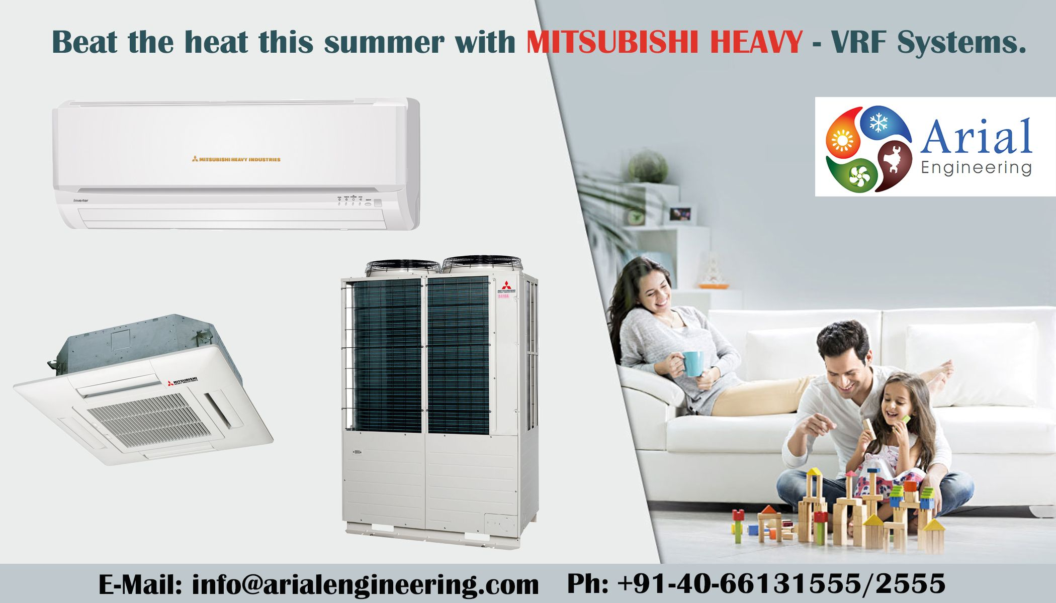 MitsubishiHeavy VRF Systems, Most Energy efficient