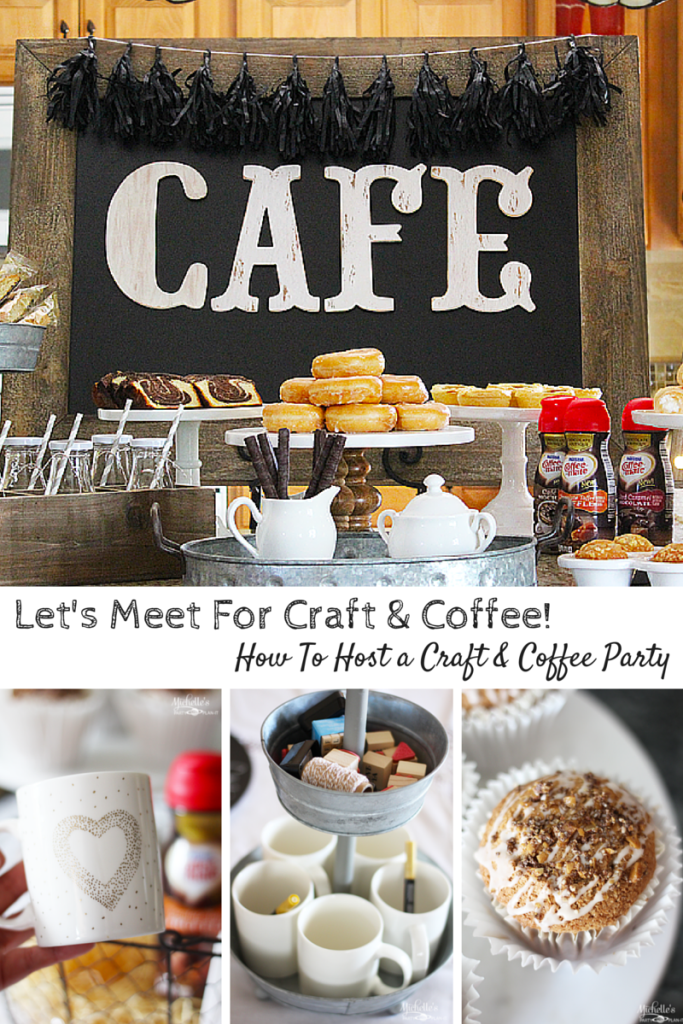 Let's Meet For Craft & Coffee! Coffee crafts, Coffee