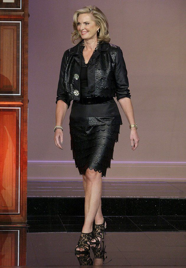 Ann Romney ... like the article said, 'next stop the biker bar?""