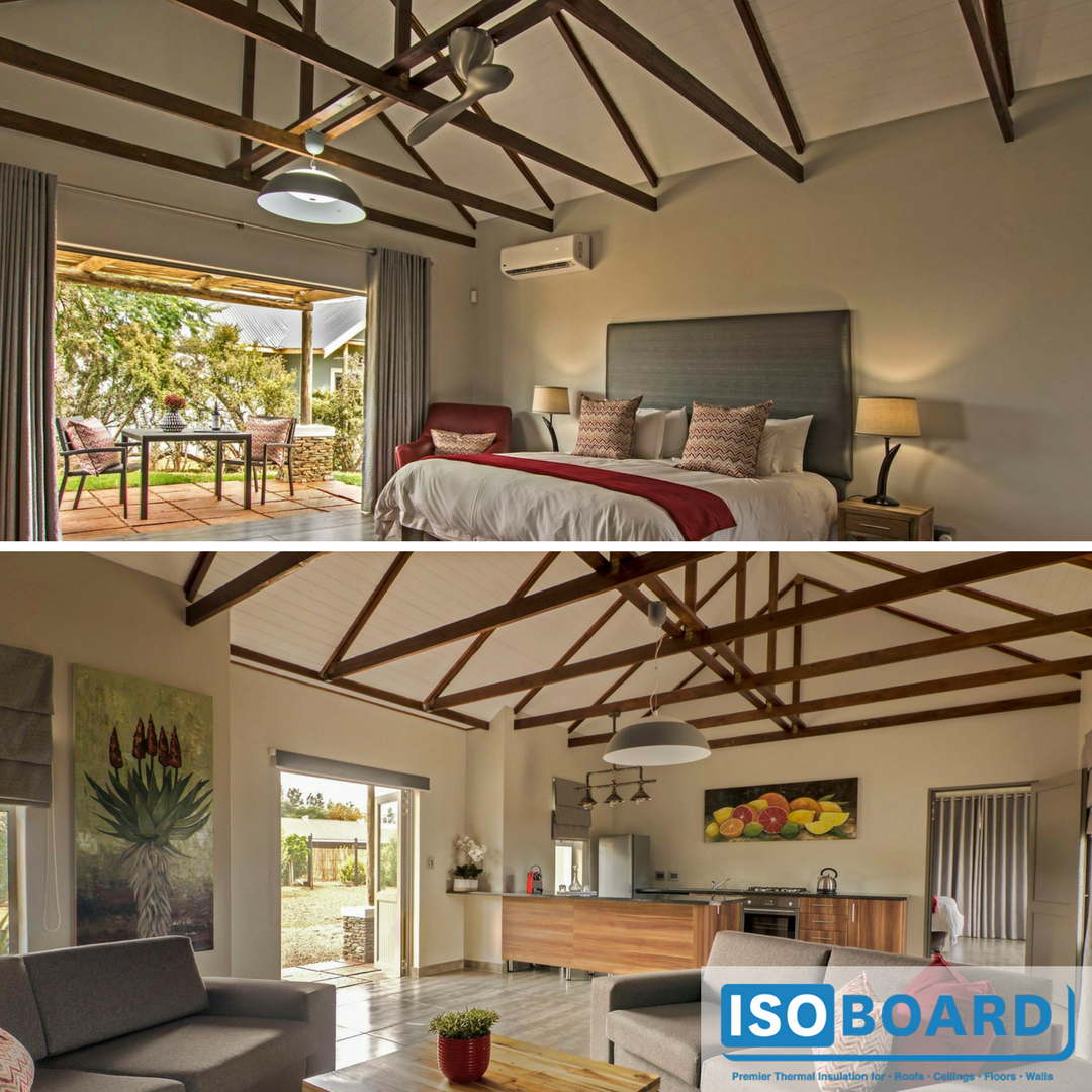 Stunning job done with IsoBoard Over Truss at Addo