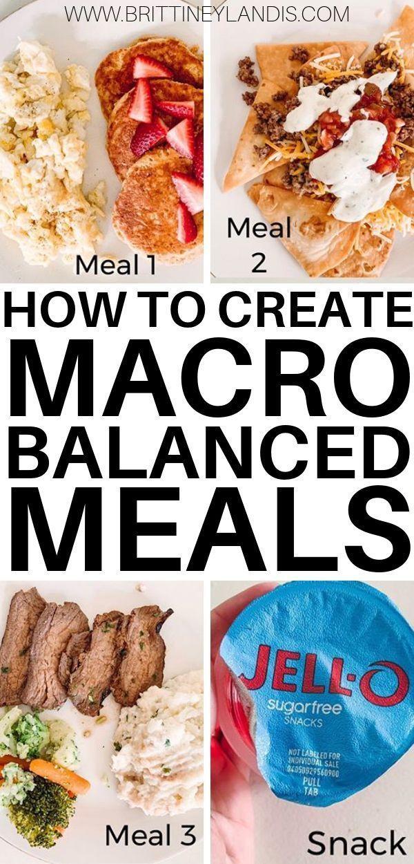 3 Steps to Creating a Macro Balanced Meal  Brittiney Landis