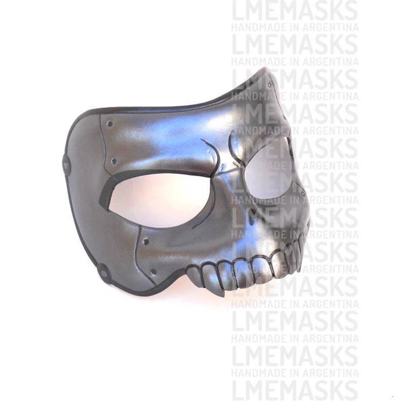 Ryuji Sakamoto Leather Mask Skull Cosplay Persona 5 Silver Etsy Leather Mask Ryuji Sakamoto Skull