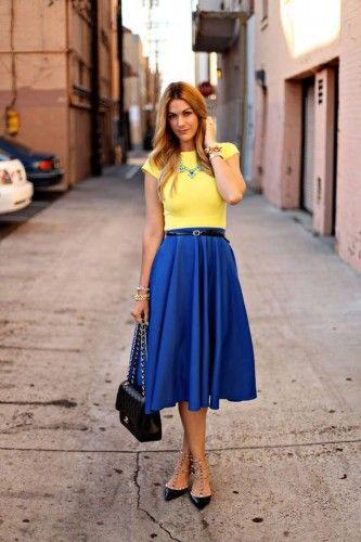 Wear High-Waist Skirt – Glam Radar