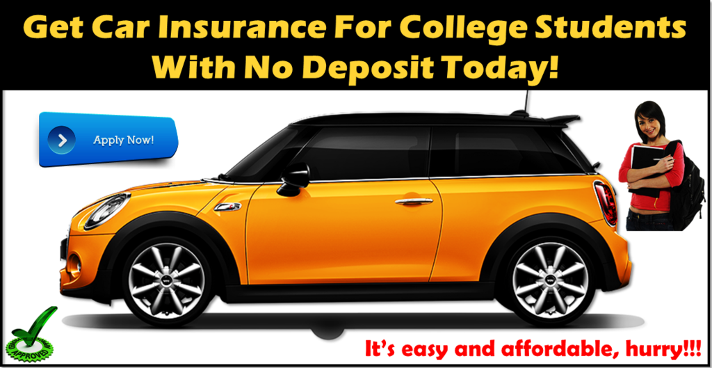 With No Money Down Online Insurance For College Students Car