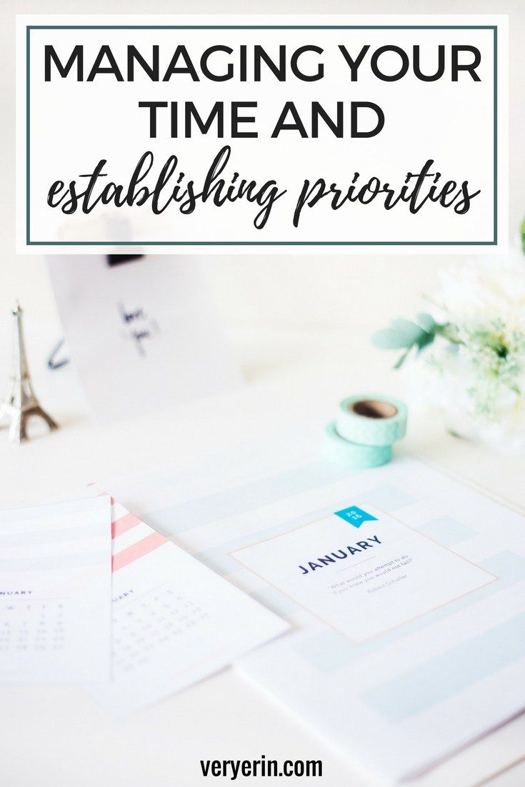 Managing Your Time And Establishing Priorities Setting Goals Positivity Goals