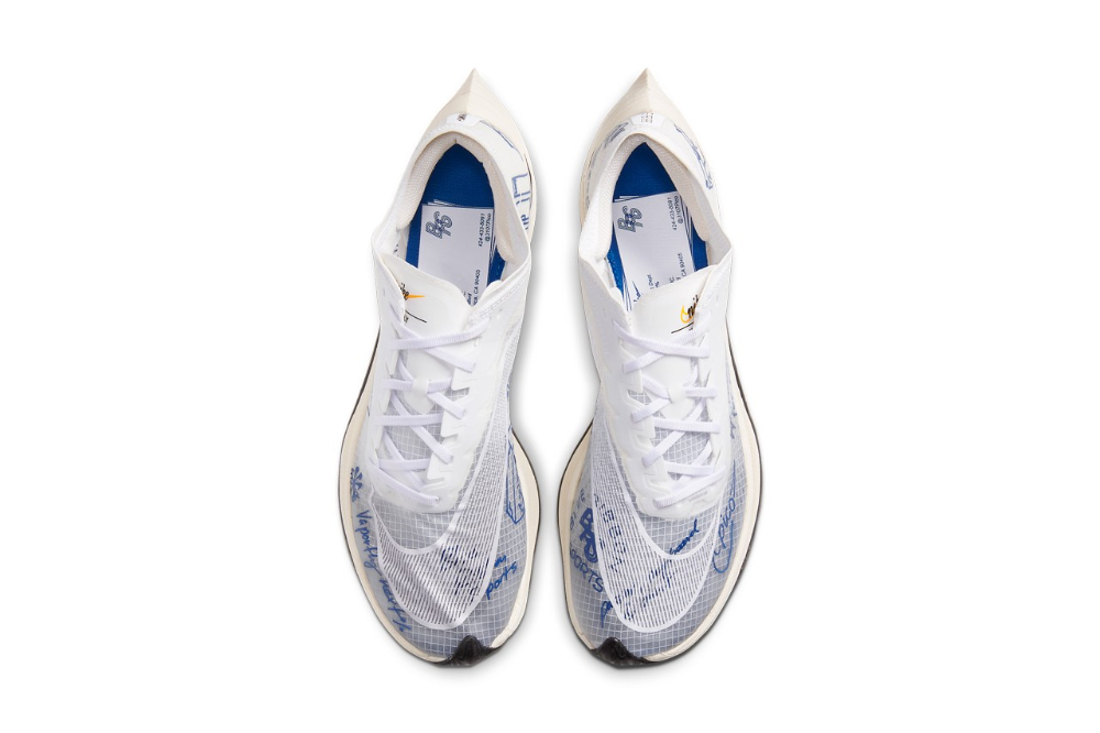 Nike Zoomx Vaporfly Next Gets Blue Ribbon Sports Makeover Vans Classic Slip On Sneaker Running Shoes Nike