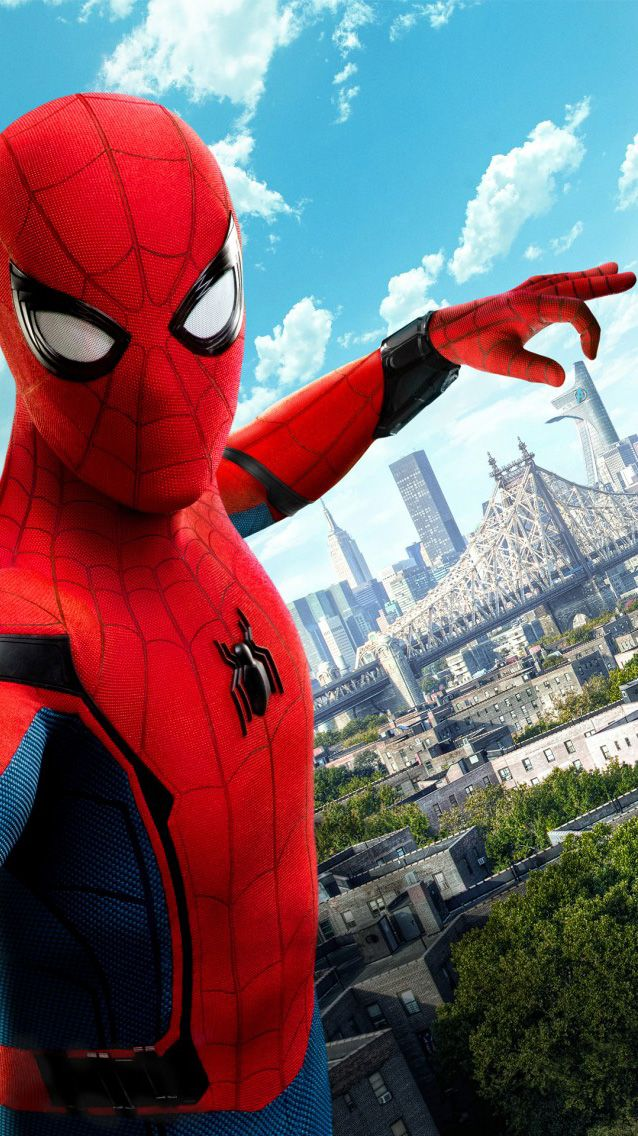 Spiderman homecoming fondos de pantalla para android e for Protector de pantalla para android