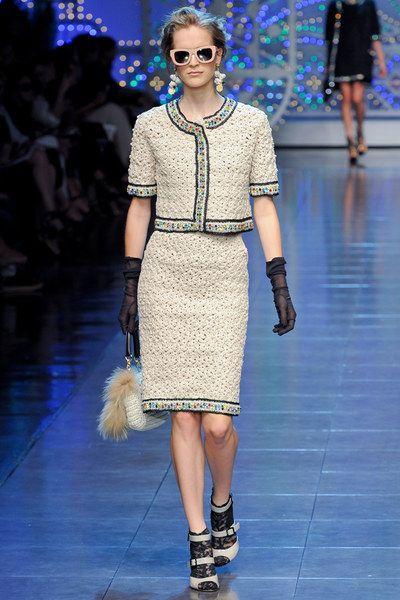 Dolce & Gabbana Spring 2012 Ready-to-Wear Collection Photos - Vogue