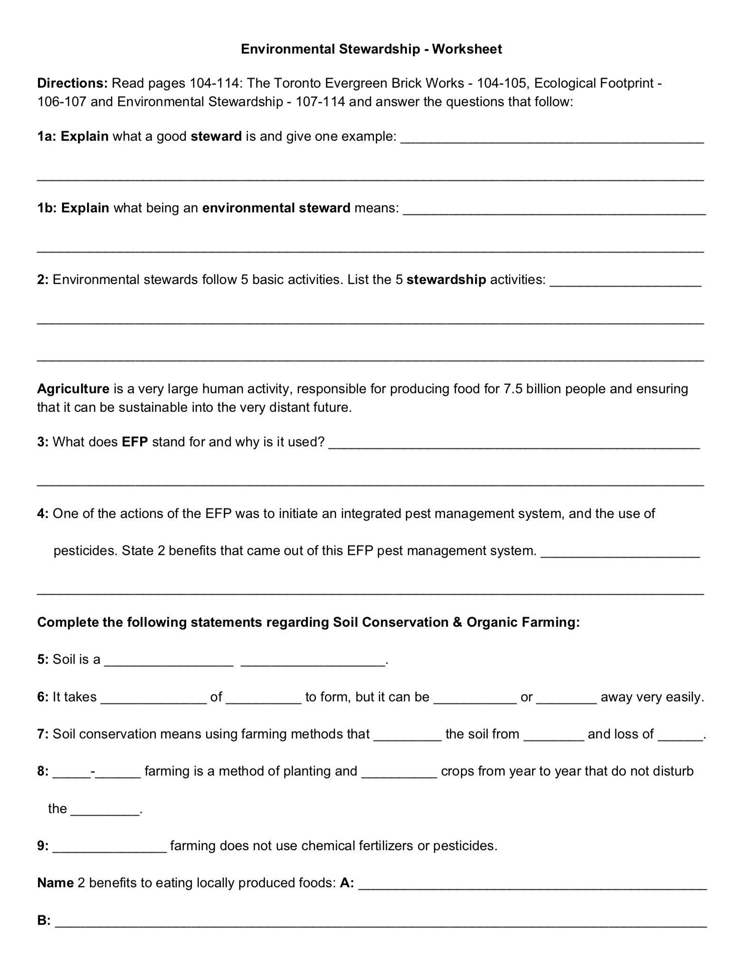 Environmental Stewardship Worksheet Monday June 10 2019 Distance Time Graphs Worksheets Worksheets Graphing Worksheets