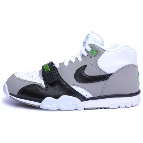 uk availability 0ef81 c5012 Nike — Air Trainer 1 Mid Premium White Grey Black — John McEnroe