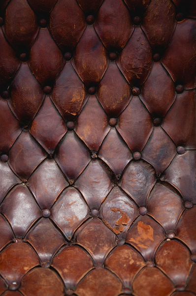 Nothing Beats A Great Button Tufted Well Worn Leather