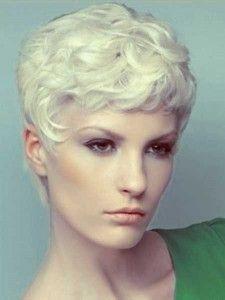 Blonde lockige kurzhaarfrisuren