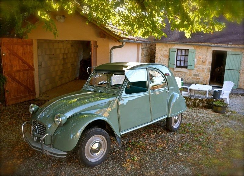 1964 citroen 2 cv azam automoviles pinterest coches for Garage citroen pertuis