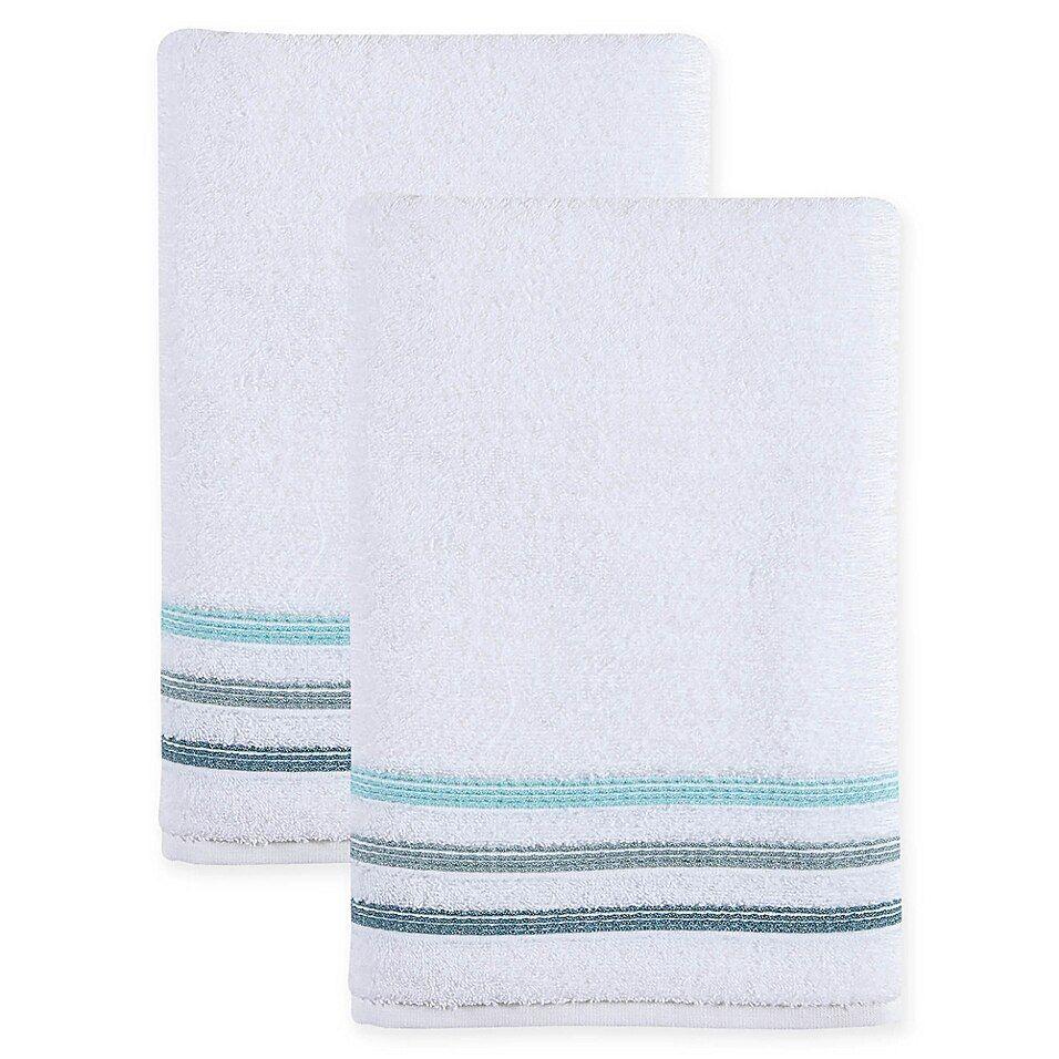 Ozan Premium Home Bedazzle Bath Towels In Green Set Of 2 With Images Bath Towels Bath Towel Sets