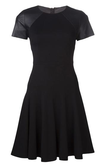 Pleated waist dress by Jason Wu