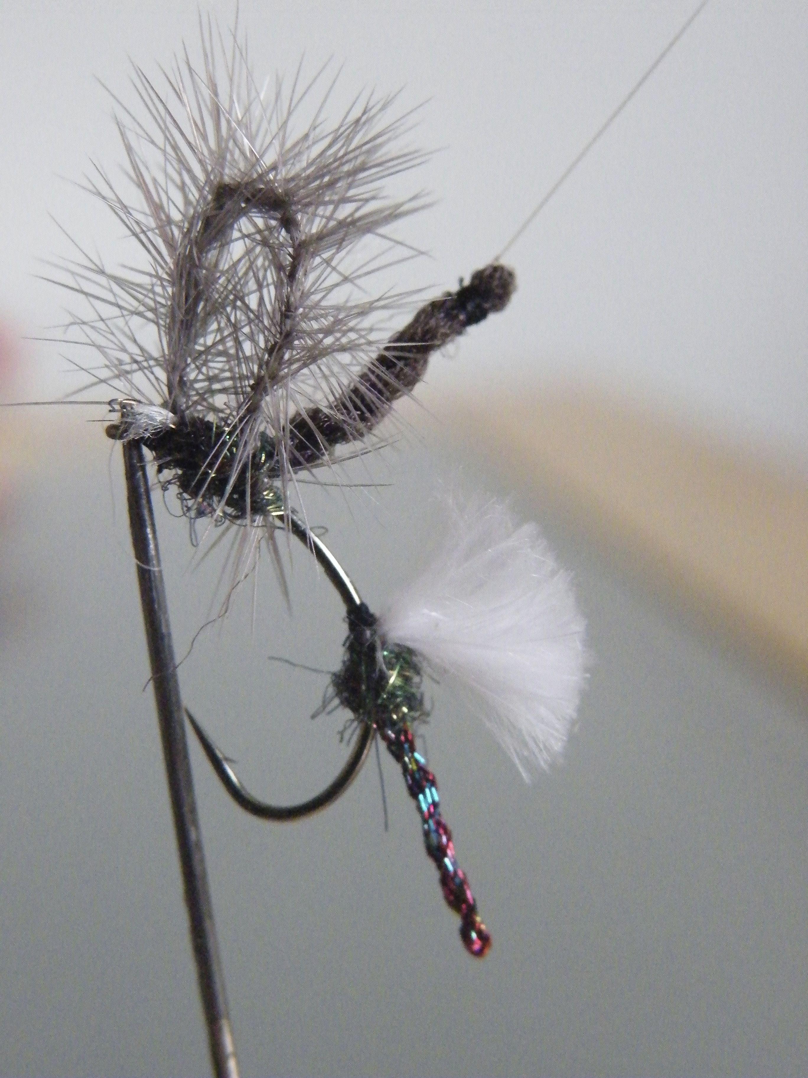 Midge double emerger no la tirar a al agua pero for Midge fly fishing
